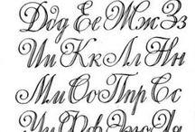 Красивые русские буквы