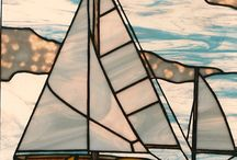 Stained glass projects / Schooner