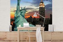 Metropolen | Big City Life / Du liebst die Großstadt und du lebst die Großstadt? Die Metropolen der Welt sind Dein Zuhause? Hier haben wir ein paar tolle Wohnideen für Dich, die Dir das Großstadtflair direkt ins eigene Heim zaubern. Lebe Deinen Großstadt-Traum mit Bilderwelten.de #bigcitylife #skyline #Stadt #Großstadt #Metropolen #Großstadtflair #city #town #modern #life #Stadtleben