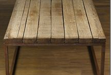 Coffee Tables & Side Tables / Coffee tables made of reclaimed wood, wood, metal and concrete.