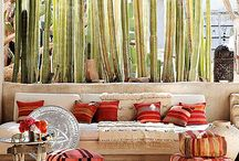 Boho Outdoor by Season in a Trunk / Boho inspired creativity we can not get enough of at Season in a Trunk #outdoorliving