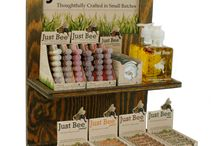 Just Bee Products / We work in harmony with nature to create products you can feel good using.