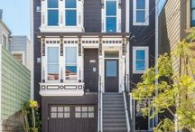 Just Sold! 1378 Florida Street, San Francisco / 1378 Florida St. - top floor condo, Victorian on the outside and modern on the inside