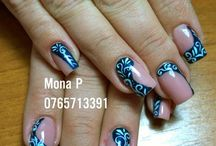 Nail Art by Mona P 2015 / Nail Art