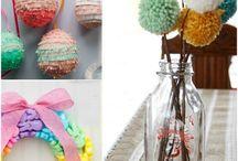 Kids Crafts - Spring