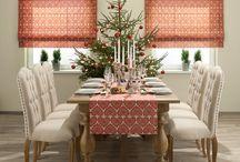 Święta Bożego Narodzenia / Zacznijmy dekorować dom na święta, same zapoczątkujmy świąteczny klimat. Najpierw dom, świąteczne prezenty, potrawy i na wszystko znajdziesz czas. Dekoria przygotowała kilka pięknych aranżacji z kolekcji Christmas