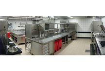 Hotel kitchens