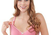 * Pretty in Pink * / Ob leuchtendes Pink oder romantisches Rosa – diese Farben begleiten dich durch eine trendige Schwangerschaft und Stillzeit! Die passenden Still-BHs findest du hier oder auf www.bravadodesigns.com