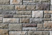Limestone: Cultured Stone® by Boral® / Molded from limestone quarried in the upper Midwest, Cultured Stone® Limestone replicates this popular building material. The rough, hand-split surface in a variety of colors lends itself to any number of possibilities.