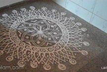 Kolam patterns / by Lori Davis