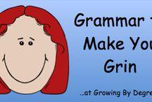 Writing - Grammar