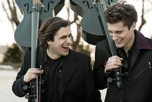 """2CELLOS (SOLD OUT): February 28, 2015 / This performance is SOLD OUT.  The Long Center Presents 2 Cellos, February 28 at the Long Center.  """"…Go and see them live, because it really is astonishing! I can't remember seeing anything as exciting as them since I saw Jimi Hendrix live back in the 60's…"""" -Elton John  Tickets: http://ow.ly/FeYuF"""