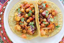 Tacos Veganos / Inspiración vegana / by Mariana Del Valle