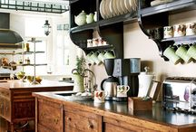Kitchens and pantry,s