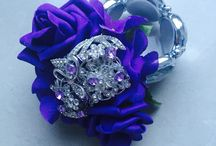 Cadburys Purple Wedding Flowers / Cadburys purple flowers, bouquets and buttonholes