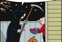 Halloween / spooky scary skeletons