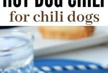 Hotdog chili