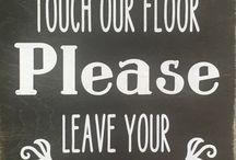 signs saying