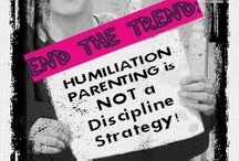 Bullying Resources / Humiliation Parenting Awareness  / Humiliation parenting / cyber discipline IS bullying / hazing. Mistakes are part of learning and developing resiliency. Public shaming crushes the dignity of the child. A variety of bullying resources, ideas, images, inspiration and sites can be found here.