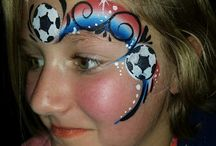 Facepaint sports