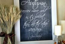 Chalkboards / Lots of great ideas for chalkboard art, quotes, tutorials on how to make a DIY chalkboard!  Ideas for many holidays and occasions.