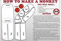 Sock Monkeys go Bananas