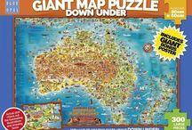 Australia Jigsaw Puzzles / Australia Jigsaw Puzzles Available at Kids Mega Mart Online store www.kidsmegamart.com.au