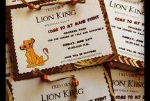 lion king invites