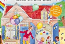 Het kleurenwinkeltje / Hét boek voor alle kinderen vanaf 3 jaar over kleuren en vormen! Marjolein is dol op kleuren. Daarom verkoopt ze allemaal gekleurde dingen om de wereld mooier en vrolijker te maken, zoals ballonnen, vlaggetjes, slingers, stiften, en kleurpotloden. En natuurlijk heeft ze ook verf in alle kleuren van de regenboog. Want in een wereld zonder kleuren zonder rood en geel en groen is voor iemand die kan verven echt ontzettend veel te doen!