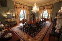 Dining at Eden Mansion