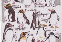 Love - whales, seabirds, penguins / Whales, seabirds and penguins. Art, photography, decor, toys.