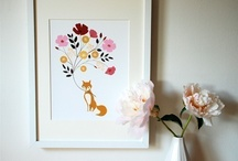 for my walls -- a wishlist / by Maureen Cracknell Handmade