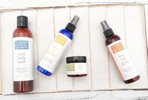 Summer / Products, tips and tricks to naturally care for sunburns, acne, body odor and other summer skin problems.