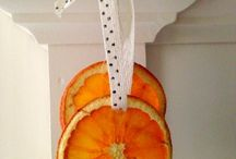 How to dry oranges