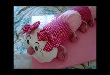 hračky z textilu - video