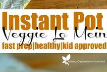 Instant Pot Ideas / Easy, healthy, Vegetarian/Vegan recipes using the Instant Pot.