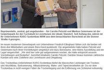 Team KARO Systembau NRW / Vorstellung unseres Team