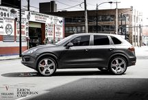 "Vellano VSQ l Porsche Cayenne / Stunning Porsche Cayenne sitting on a Majestic Set of  Vellano VSQ 24"" Three Piece Forged Let us know what you guys think?"