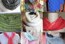 Best Scarf Knitting Patterns / Best scarf knitting patterns and knitting infinity scarf and cowl patterns. Knitting a scarf. How to knit a scarf. Free scarf knitting patterns. Patterns for knitting winter scarves