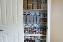 Pantry Organization / Storage/organization solutions and potential product purchases for my kitchen pantry.