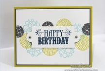 Stampin Up masculine cards