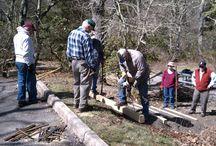 Volunteers in Parks (VIP)  / Volunteers are the lifeblood of the Blue Ridge Parkway!