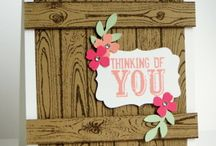 Hardwood Background Stampin Up