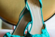WEDDING SHOES / TEAL
