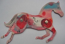 Ann Wood horses and paper dolls