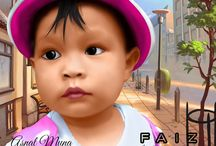 Cartoon, Carikature, Art Design, Semudge Painting / make your photo be cartoon, caricature and other