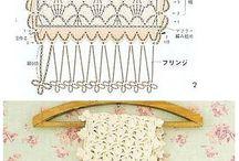 Manteles/Cortinas Patrones Crochet