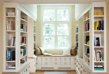 Library/Living room / by Gretchen Kyte