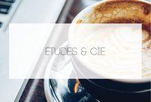 [BLOG] É T U D E S  &  C I E / Articles relatifs aux études, à la réalisation de CV ou encore d'astuces pour le premier entretien d'embauche !
