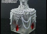 drôtikované flaše